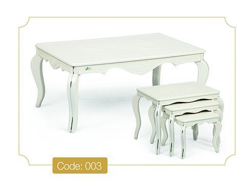 جلومبلی و عسلی ونیز سفید مدل 003 تمام ام دی اف وکیوم