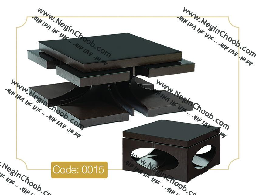 خرید میز جلو مبلی شیشه ای مدل رویا با بهترین قیمت عید 98
