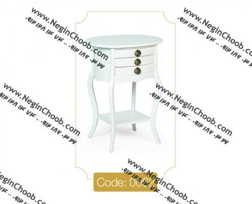 خرید میز تلفن چوبی سه کشو بیضی خرید میز تلفن جدید در بیش از 20 مدل جذاب نوروز 98