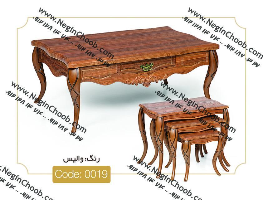 قیمت میز جلو مبلی ام دی اف کلاسیک
