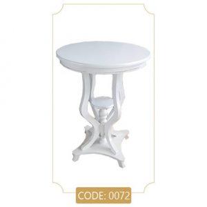 میز خاطره گرد ام دی اف کد 0072